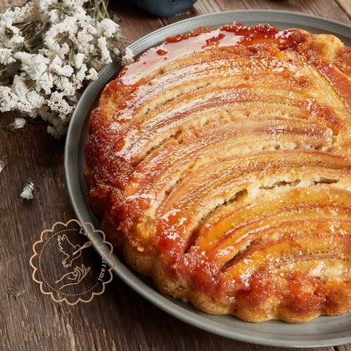 طرز تهیه و پخت کیک موز کاراملایز