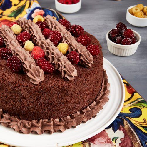 آموزش کیک شکلاتی بی بی