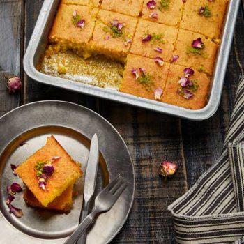 طرز تهیه و پخت کیک باقلوا