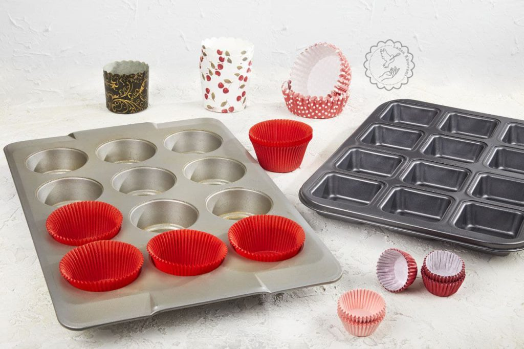 قالب کاپ کیک شیرینی پزی